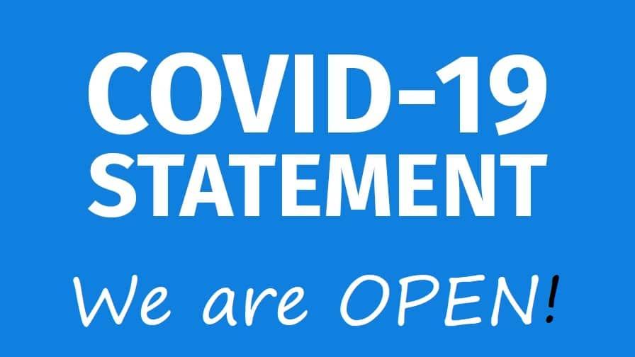 Covid statement